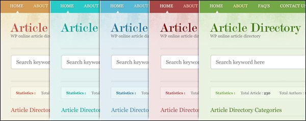 Standard Features of our WordPress Themes
