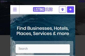 WordPress Listing Plus Directory Theme 2017