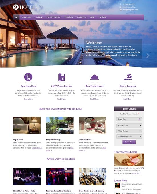 Buy Travel Tourism Wordpress Theme For Agency