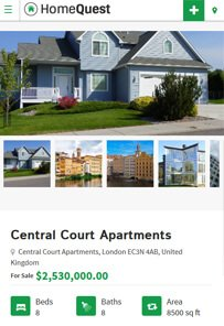 HomeQuest Real Estate Directory Theme
