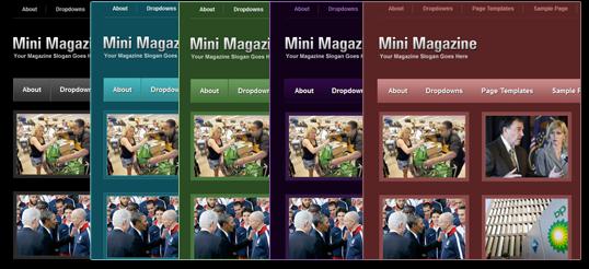 colorscheme - MiniMagazine Dark WordPress Theme