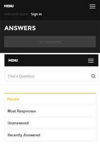 Question & Answers WordPress Theme