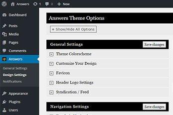 Answers WordPress Theme