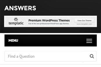 Answers WordPress Template