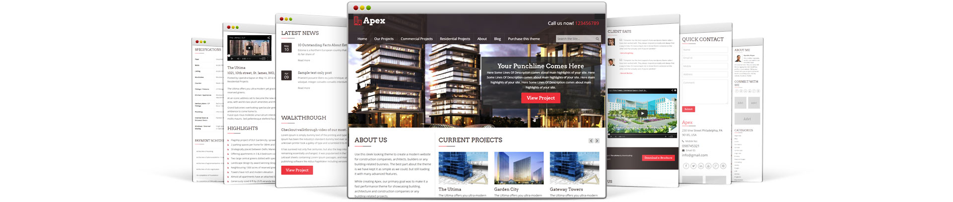 how to create a construction page with wordpress