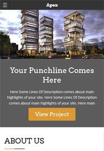 WordPress Apex Construction Responsive Theme