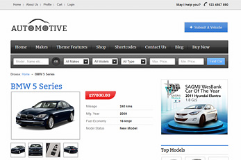 Templatic Car Dealership Themes