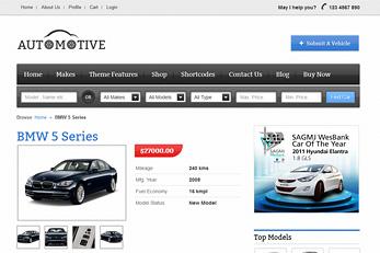 Templatic Car Dealership Themes