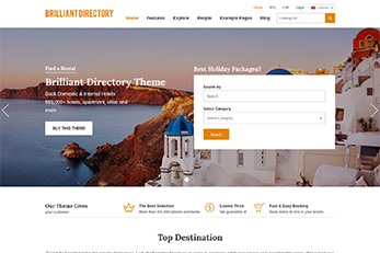 Business Directory Theme 2017 - Home Page