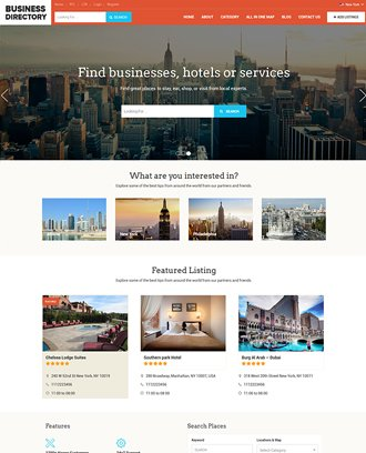 Business Directory Theme