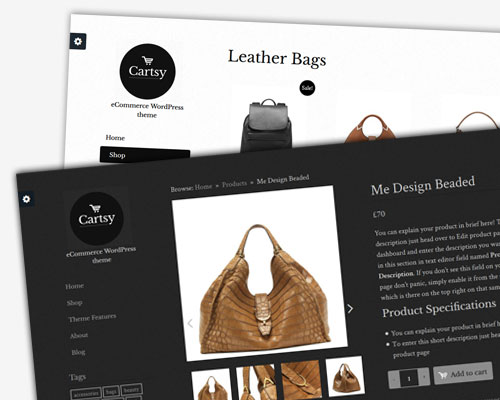 Cartsy WooCommerce theme