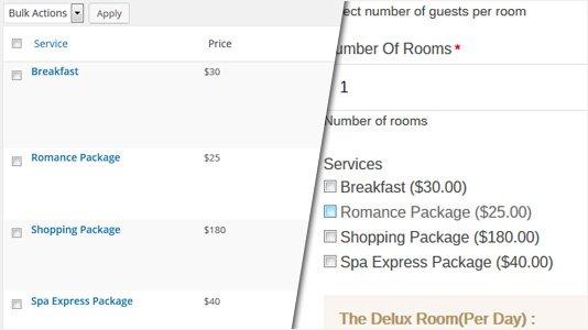 Chateau WordPress Booking Theme