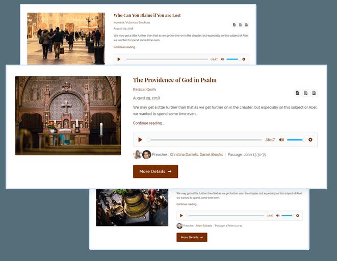 1 Church Wordpress theme [2019] - For Non-profit & donations websites