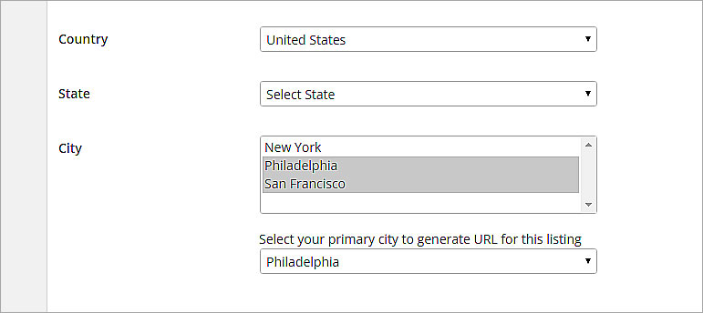 City Permalink plugin for Directory WordPress Theme