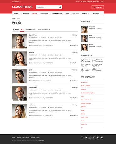 Classifieds WordPress Theme