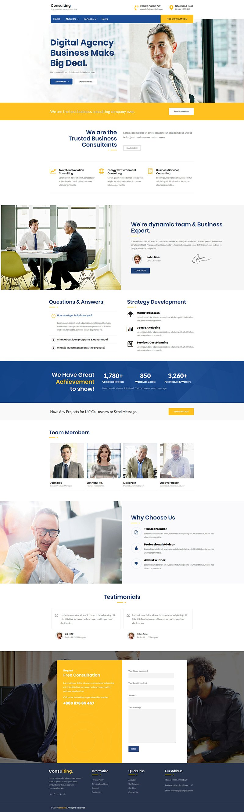 WordPress Job Listings Theme
