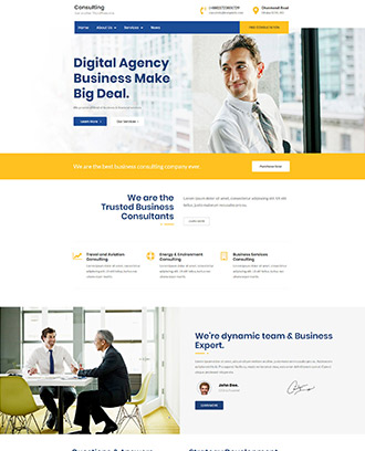Buy business wordpress theme for corporate website template 2018 wordpress themes for business cheaphphosting Gallery
