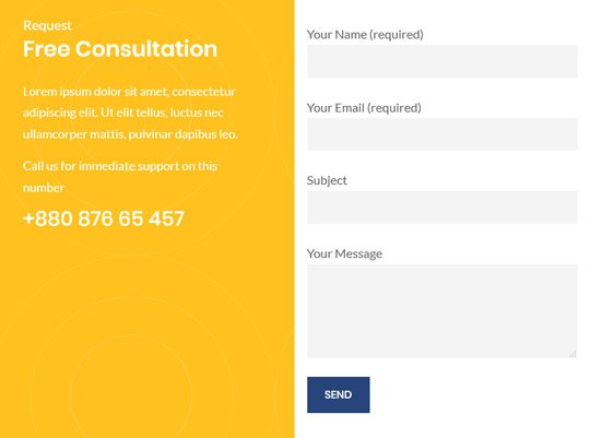 Business Consulting & Law WordPress Theme