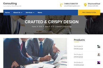 WordPress Consulting Theme