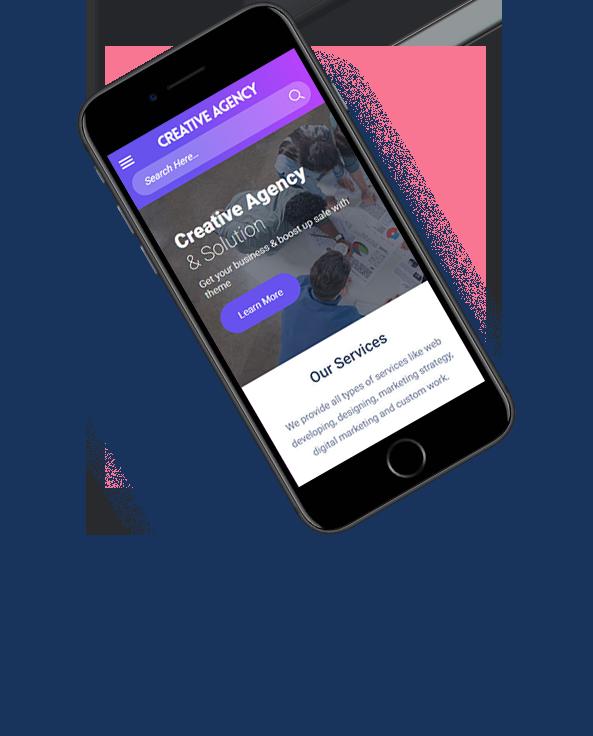 mobile friendly Agency WordPress theme