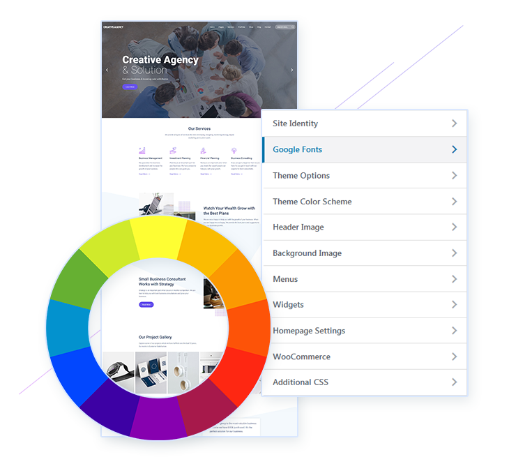 Easy to use Agency WordPress Theme