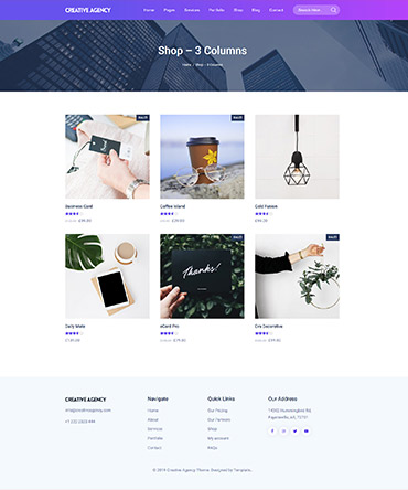 WordPress Agency theme