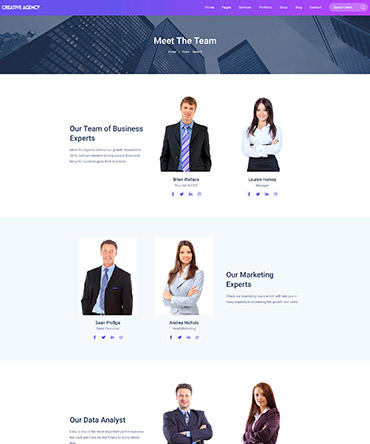 Agency theme- Team design
