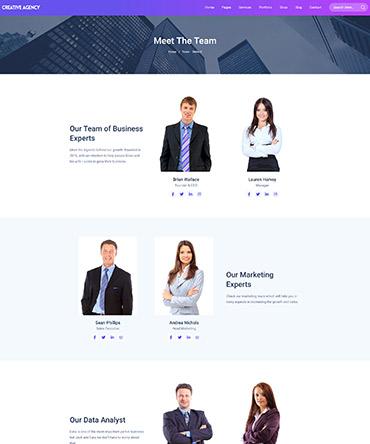 Agency theme- Team design