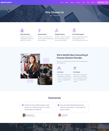 WordPRess Agency theme