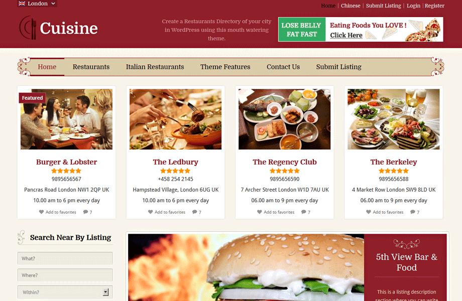 Cuisine-Directory-ChildTheme