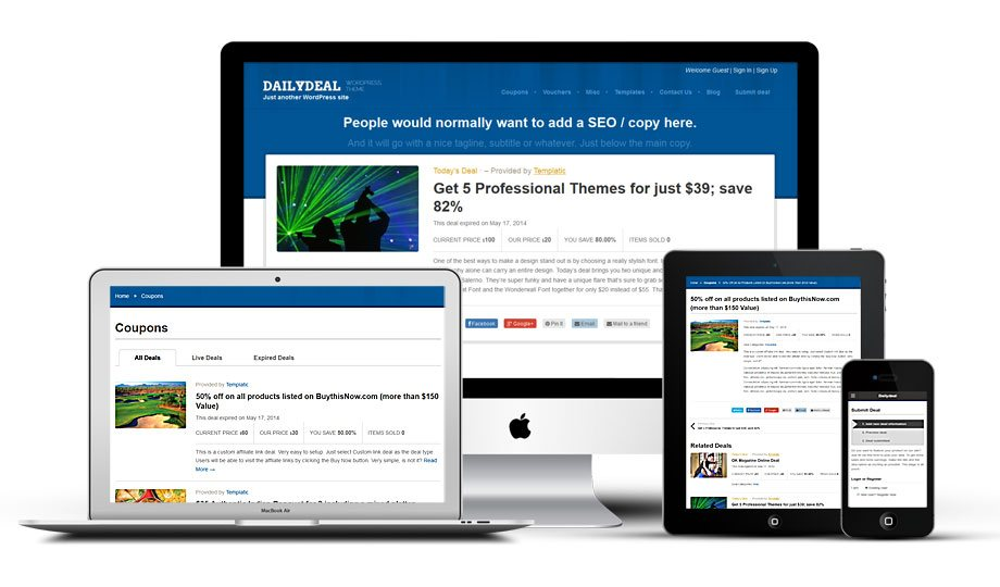 WordPress Coupon Theme