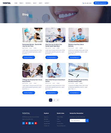 Agency theme- service page
