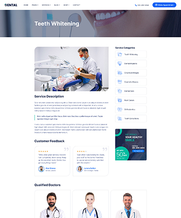 Agency theme about page