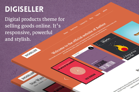 DIGISELLER - Digital products theme for selling goods online