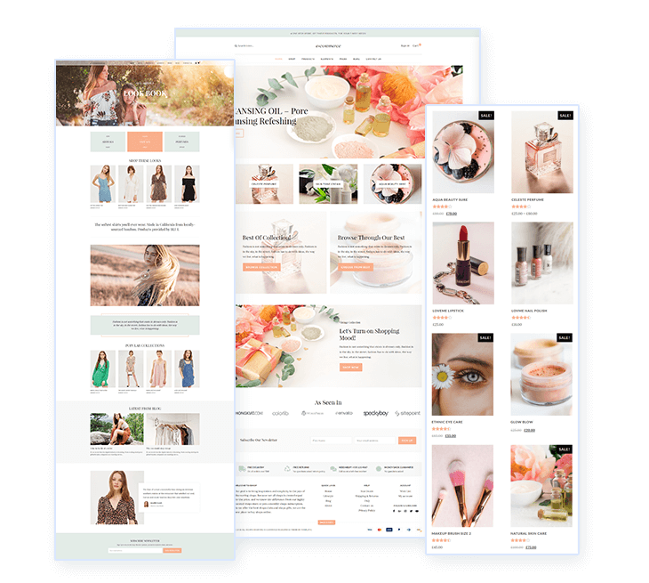 preformance optimized eCommerce theme