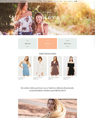 eCommerce theme homepage version 3