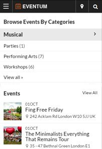 Event Directory Theme