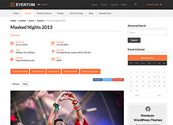 Eventum Directory WordPress theme