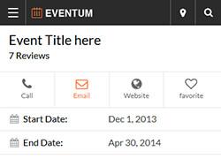 Eventum Directory WordPress Template