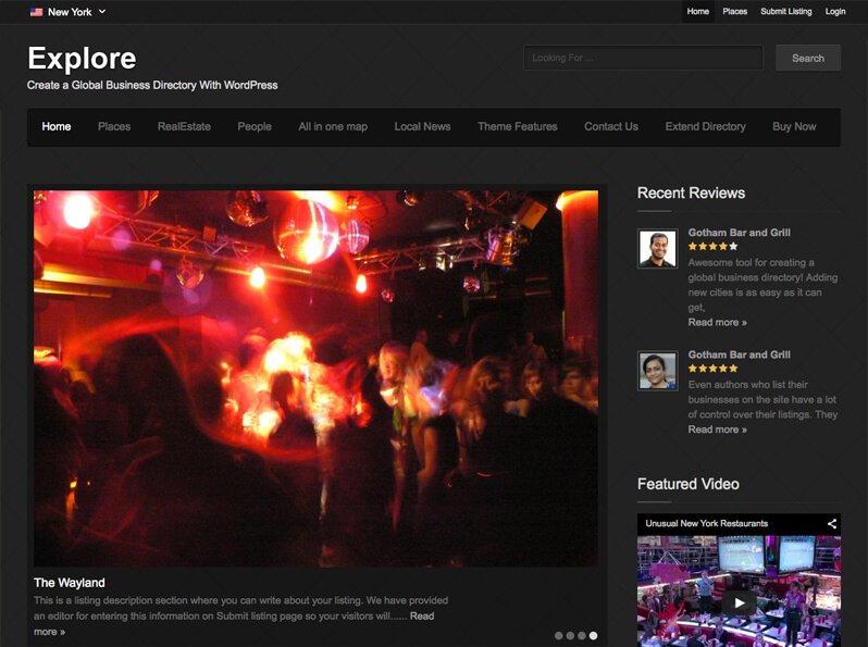 Explore Directory Theme