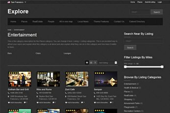 WP Business Listing Theme Explore