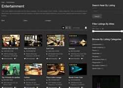 WordPress Explore Directory Theme
