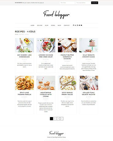 Blog your reipes with Food Blogger