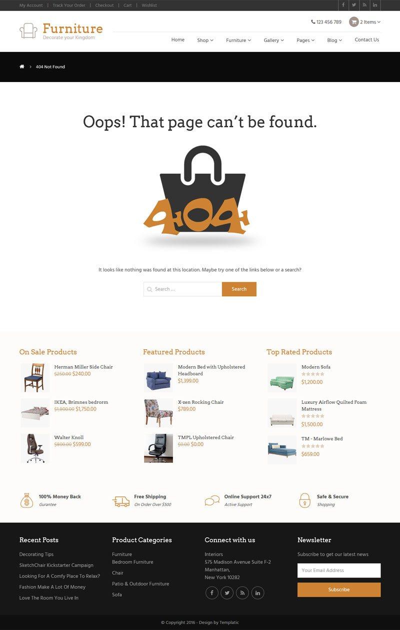 furniture theme interior design 2017 multipurpose online stores