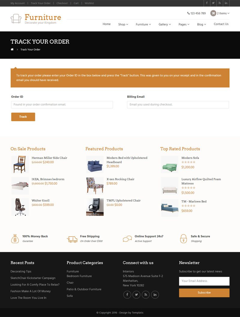 Furniture theme interior design 2018 multipurpose for Interior design order online