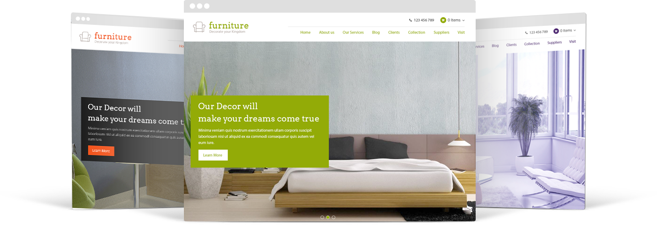 WP Furniture Theme 2016