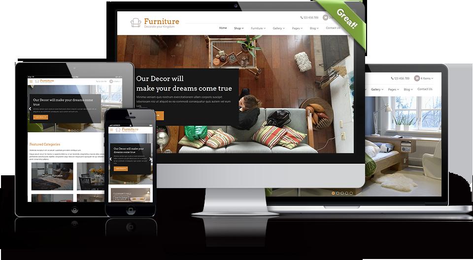 WordPress 2016 Furniture Theme