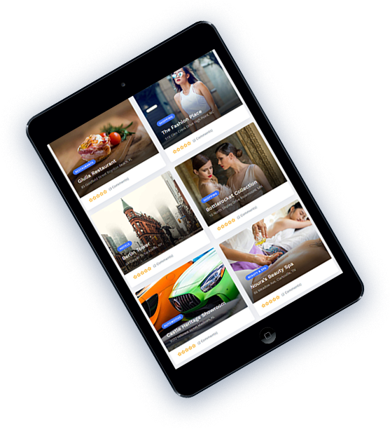 Responsive Geoplaces5 theme