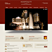 Wordpress hospitality theme - Fully Customized Front Page