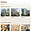 Wordpress hospitality theme - Auto re-size images